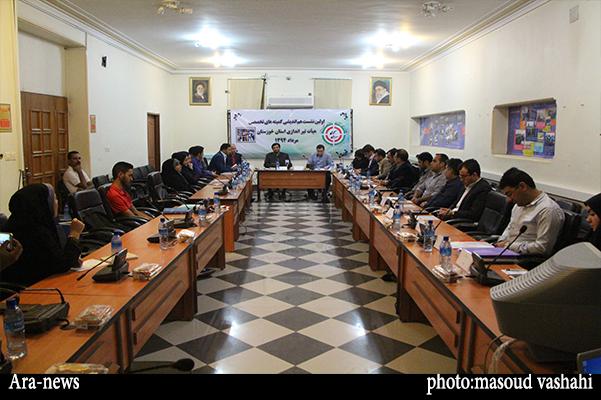 نشست هم اندیشی کمیته های تخصصی هیئت تیراندای خوزستان